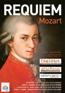 La chorale Cantoria en concert avec ke Requiem de Mozart